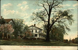 The Indian Tree and Home of Chief Justice Waite