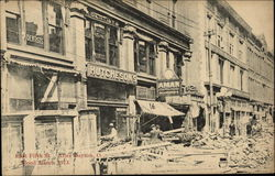 East Fifth Street after Flood March 1913
