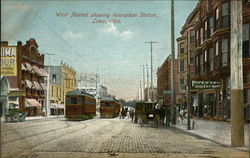 West Market showing Interurban Station