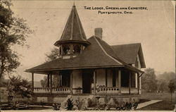 The Lodge, Greenlawn Cemetery