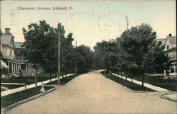 Claremont Avenue Postcard