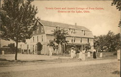 Tennis Court and Annex Cottage of Four Gables