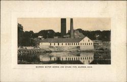 Warren Water Works and Stand Pipe