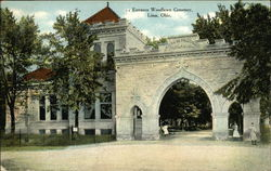 Woodlawn Cemetery - Entrance