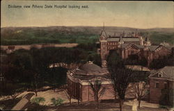 Birdseye View Athens State Hospital Looking East