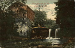 Idora Falls and Old Mill, Mill Creek Park