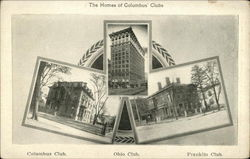 The homes of Columbus' clubs
