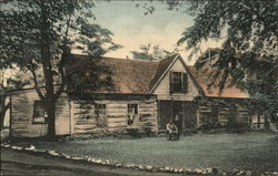 Old Log Cabin of Gov. Doty, First Gov. of Wisconsin