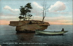 Bass Island, Profile Rock, North End of Island