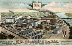 One of the Independent Packing Plants. That is a Model of Cleanliness T.M. Sinclair & Co. Ltd.