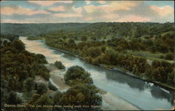 The Des Moines River looking south from Viaduct