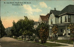 St. Ann Street, South from 5th Street