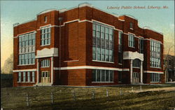 Liberty Public School Postcard