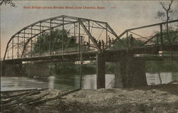 Steel Bridge across Neosho River