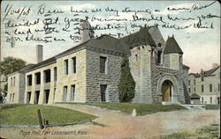 Pope Hall Postcard