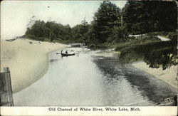 Old Channel of White River, White Lake