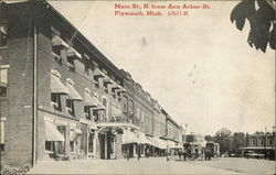 Main Street N. from Ann Arbor Street