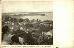 View of Town and Clearwater Lake