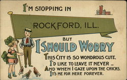 I'm Stopping in Rockford, Ill. But I Should Worry