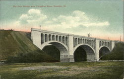 Big Four Bridge over Vermilion River