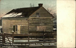 Thomas A. Hendricks Old Log Cabin, First Indiana Home
