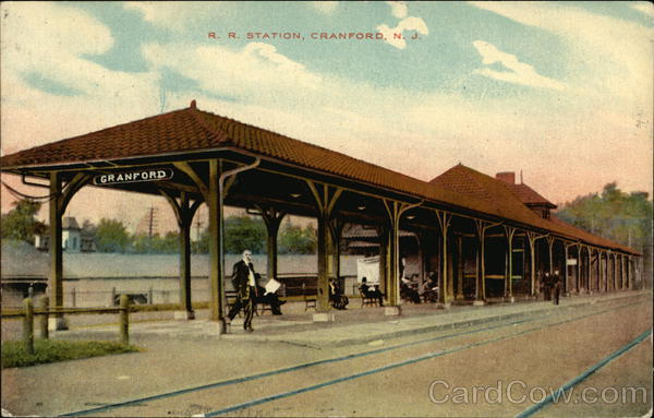 R. R. Station Cranford New Jersey