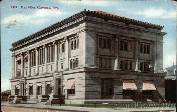 Post Office Cheyenne Wyoming