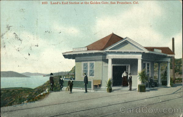 Land's End Station at the Golden Gate San Francisco California