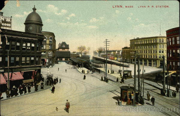 Lynn R.R. Station Massachusetts