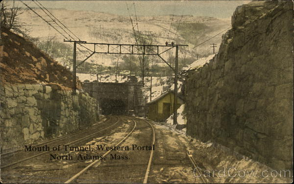Mouth of Tunnel, Western Portal North Adams Massachusetts