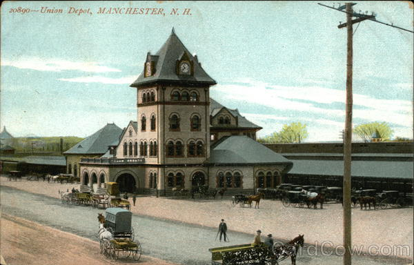 Union Depot Manchester New Hampshire