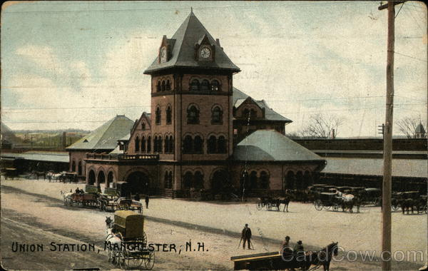 Union Station Manchester New Hampshire