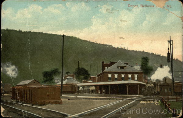 Depot Bellows Falls Vermont