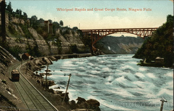 Whirlpool Rapids and Great Gorge Route Niagara Falls New York