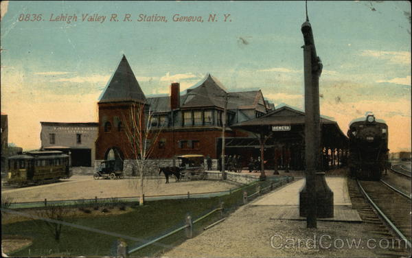 Lehigh Valley R.R. Station Geneva New York