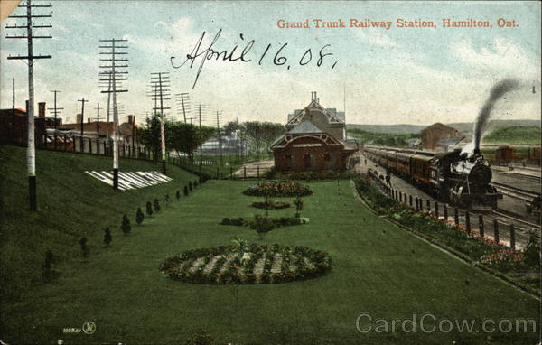 Grand Trunk Railway Station Hamilton Canada Ontario