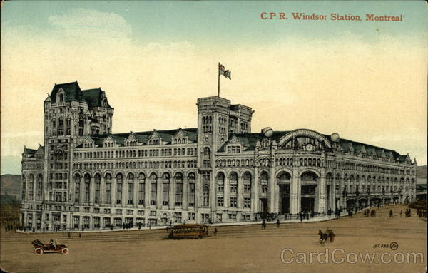 C.P.R. Windsor Station Montreal Canada Quebec