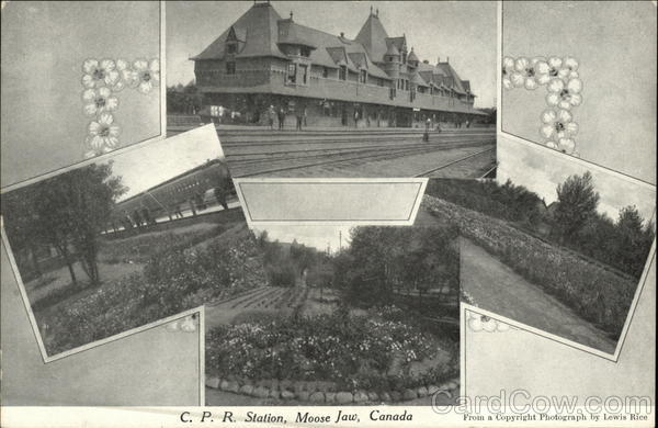 C.P.R. Station Moose Jaw Canada Misc. Canada