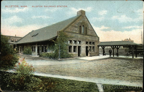 Allston Railroad Station Massachusetts