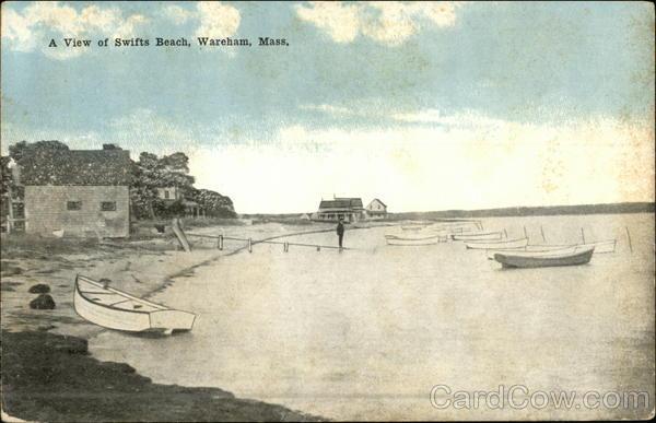 A View of Swifts Beach Wareham Massachusetts