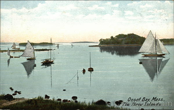 The Three Islands, Onset Bay Massachusetts