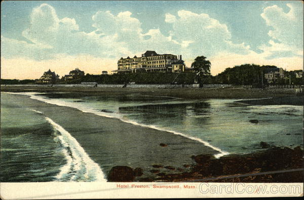 Hotel Preston Swampscott Massachusetts