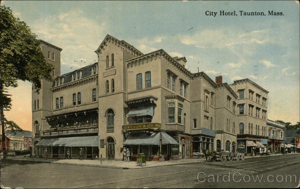 City Hotel Taunton Massachusetts