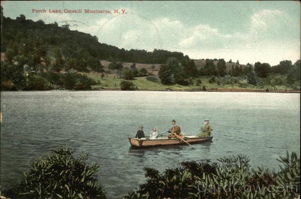 Perch Lake, Catskill Mountains, N.Y. Catskills New York