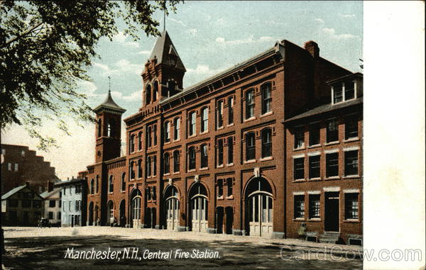 Central Fire Station Manchester New Hampshire