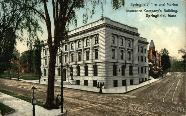 Springfield Fire and Marine Insurance Company Building Massachusetts