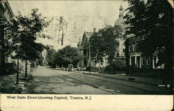 West State Street Showing Capitol
