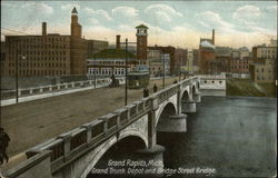 Grand Trunk Depot and Bridge Street Bridge