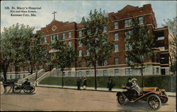 St. Mary's Hospital, 28th and Main Streets Postcard
