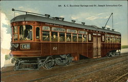 K.C. Excelsior Springs and St. Joseph Interurban Car